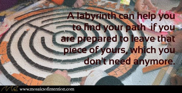 A piece in a labyrinth