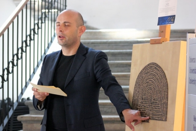 Opening of the exhibition at the University of Primorska